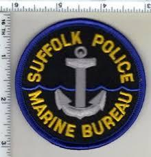 marine bureau suffolk county york marine bureau shoulder patch ebay
