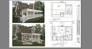 Loft Cabin Floor Plans Cabin Plans Hdviet