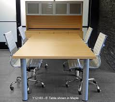 4 X 8 Conference Table Tables W Post Legs In 5 Colors From 6 To 16 6 X 4