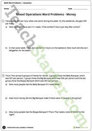 money and financial mathematics teaching resources u2013 teach starter