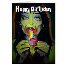 zombie birthday cards greeting u0026 photo cards zazzle