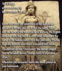 Pagan Easter Meme - christian myth busting the christian snopes