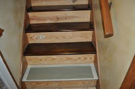Stair Base Molding by Reclaim Ologists And Other Crafty Staircase Transformation