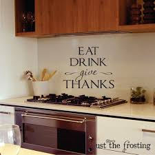 Dining Room Decals Kitchen Or Dining Wall Decals Kitchen Vinyl Lettiring Give