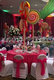 Carnival Themed Table Decorations Cute For A Willy Wonka Theme But Might Interfere With The