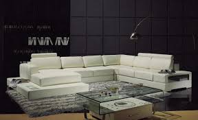 Modern Sectional Sofas Miami by Yil T63 Contemporary Leather Sectional Sofa