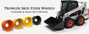 mustang bobcat skid steer wheels 10x16 5 12x16 5 standard and heavy duty