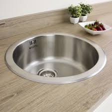 Astini Supra  Bowl Brushed Stainless Steel Kitchen Sink  Waste - Brushed stainless steel kitchen sinks