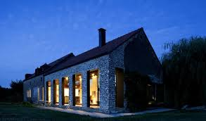old farmhouse turned contemporary by studio farris belgium