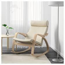 nursery furniture rocking chairs poäng rocking chair birch veneer glose eggshell ikea
