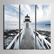 lighthouse home decor hd oil painting sea lighthouse decoration painting home decor on