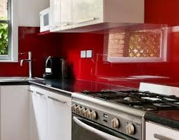 Red Colour Kitchen - glass splashbacks for kitchens and bathrooms from colour 2 glass