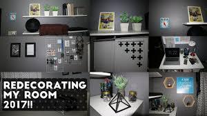 Redecorating My Room Redecorating My Room 2017 Youtube