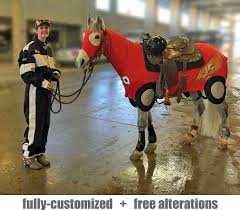 Sleazy Halloween Costumes Miniature Horse Costumes Sleezy Barb Horsewear