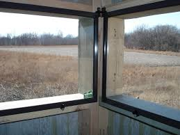 Sliding Deer Blind Windows Windows For Deer Blinds Window Blinds Designs And Ideas