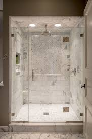 Marble Bathroom Tile Ideas Plain White Marble Shower Tile Carrara Surround Black Hex Gray
