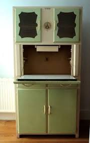 Retro Kitchen Hutch Vintage 1950 U0027s Kitchen Dresser Buffet Hutch Retro Kitchen Dresser