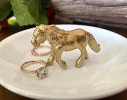 antique animal ring holder images Horse ring etsy jpg