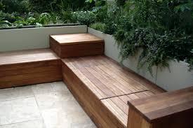 outdoor corner bench and wooden floor ideas for outdoor patio wood