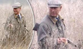 Queen Elizabeth Shooting Prince Charles Carries Gun During Sandringham House Shooting Party