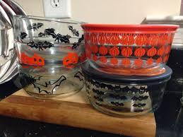 halloween tableware goth gardening o halloween pyrex just because