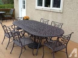 Wrought Iron Patio Table Set Cast Iron Outdoor Setting Cast Iron Outdoor Setting Home Garden