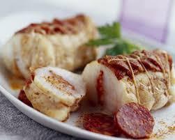 cuisiner du cabillaud recette pavés de cabillaud en écailles de chorizo