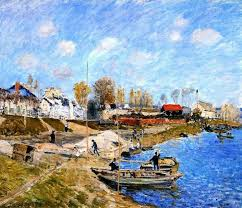 Impressionist Landscape Painting by 806 Best Alfred Sisley Impressionist Landscape Painter Images On