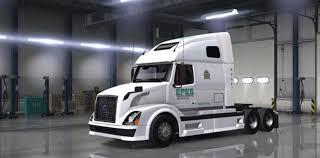 new volvo vnl volvo vnl 670 epes transport skin mod american truck simulator