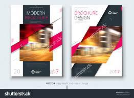 pink brochure design modern brochure template brochures