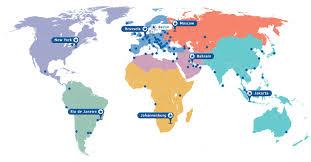 Rio On World Map Mc Group Continental Hub Afrika