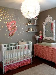 Decorating Nursery Walls Ombre And Glitter For Every Baby Rooms