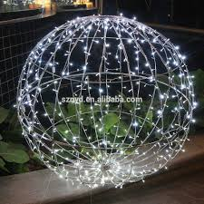 Outdoor Christmas Ornaments Lighted by Giant Led Christmas Balls Garden Decoration Lighted Christmas