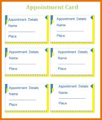5 microsoft card template itinerary template sample