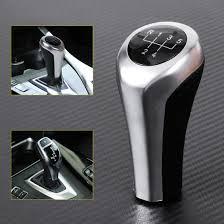 silver u0026black 5 speed mt manual gear shift knob for bmw e82 83 84