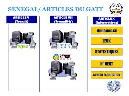 bureau du commerce international experience du senegal en matiere de dematerialisation des