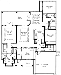 great room house plans plan 33009zr net zero ready home plan plan front porch and