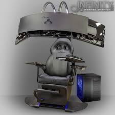 emperor computer chair gaming immersion overclockersuk launch infinity emperor chair and