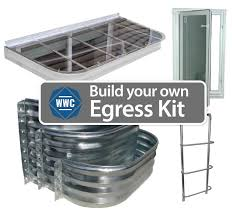 build your own egress window kit window well covers