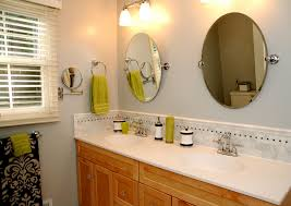 show tell before after master bath