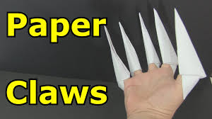 cool claws how to make paper claws cool origami creations origami