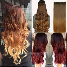 Long Blonde Wavy Hair Extensions by Aliexpress Com Buy 23 25 Inches 3 4 Full Head Clip In Hair