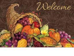 thanksgiving doormat outdoor thanksgiving harvest matmates doormat