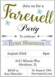 Farewell Invitation Cards 30 Free Card Designs Free U0026 Premium Templates