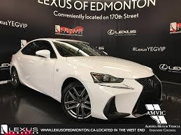 lexus f series is new 2017 lexus is 350 f sport series 3 4 door car in edmonton