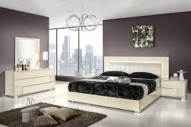 Off White King Bedroom Sets Diva Rocker Glam Beds