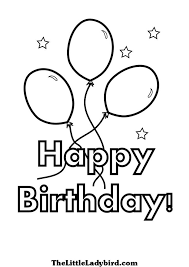 happy birthday coloring card 112 best happy birthday coloring pages images on