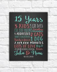 15 year anniversary gift ideas for 15th wedding anniversary gift ideas wedding gifts