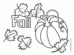 autumn coloring page sheets 190