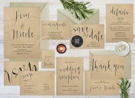Rustic Wedding Invites Paper For Wedding Invitations Wedding Invitations
